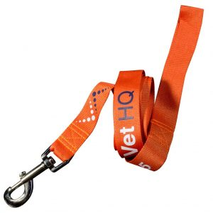 printed dog leash