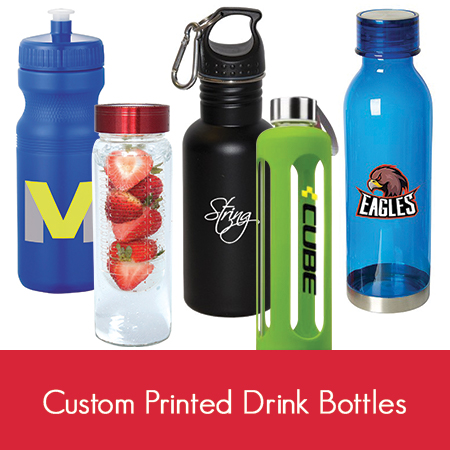 Custom Printed Reusable Drink Bottles