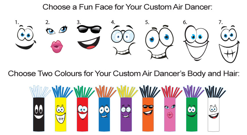 Air Dancer Customize Options