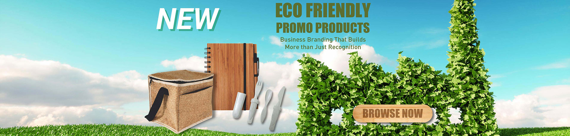 Eco Friendly Promotions - For business branding that builds more than just recognition, check out our great new products!