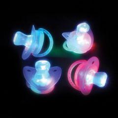 Rainbow Flashing Novelty Pacifier