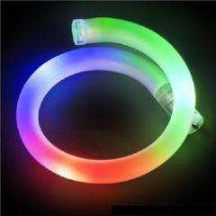 Rainbow LED Flashing Tube Bracelet