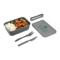 Bento Box with Band and Utensils (PLA)