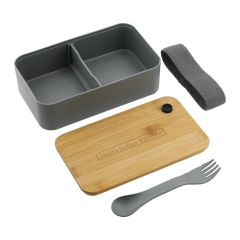 Bento Box with Cutting Board Lid (PLA)