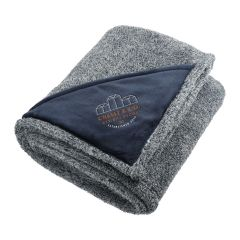 "Fuzzy Fleece Blanket 50""x60"""