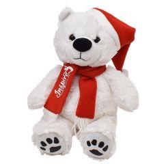 """Santa Justin Bear 11"""" Plush"""