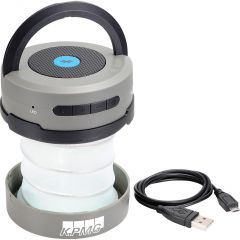 Accordion Lantern with Bluetooth Speaker