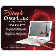 Economy Rectangle Mouse Pad