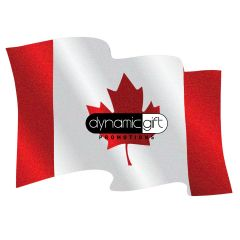 Canada Flag Shaped Coaster (40pt / 60pt)
