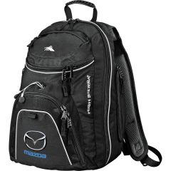 black pack with full colour logo