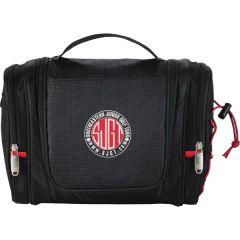 black utility kit with full colour logo