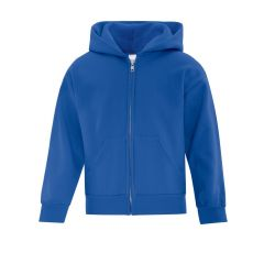 ATC Everyday Fleece Full Zip Youth Hooded Sweatshirt