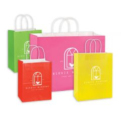 Deluxe Coloured Shopping Bags