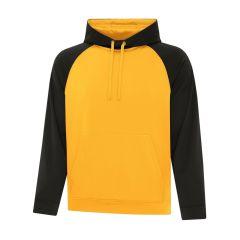 ATC Game Day Fleece Two Tone Hooded Sweatshirt