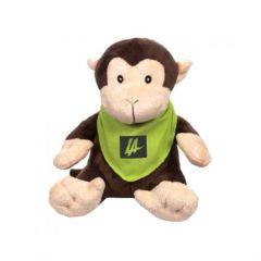 Harley the Stuffed Monkey (with Bandana)