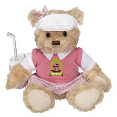 Penelope Bear Golf Plush