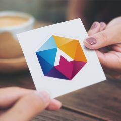 Kiss-Cut Stickers Medium