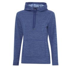 ATC Dynamic Heather Fleece Hooded Ladies Sweatshirt