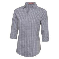 Tattersall Check Woven Ladies Shirt