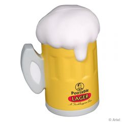 Beer Mug Shaped Stress Reliever