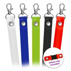Plain Silicone Lanyards In Stock