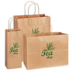 Kraft Paper Recycled Shopping Bags