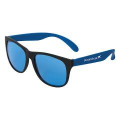 blue and black sunglasses