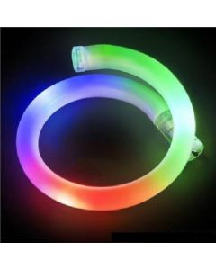 Rainbow LED Flashing Tube Bracelet