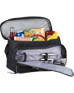 Grill & Chill Cooler Bag with 3pc BBQ Set