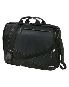 black messenger bag with no logo