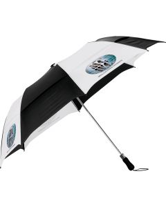 "Vented 58"" Auto Open Folding Golf Umbrella"