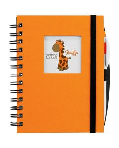 Hardcover JournalBook with Square Frame