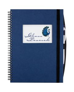 Large Hardcover JournalBook with Rectangle Frame