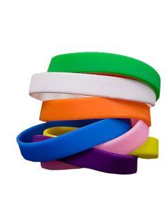 Overnight Plain Wristbands In Stock