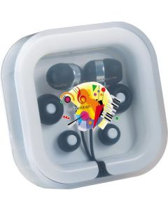 Color Pop Ear Buds with Mic
