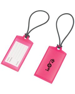 Small Silicone Luggage Tag