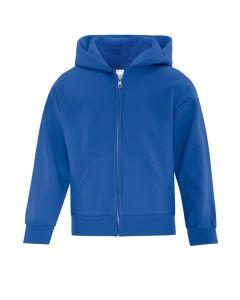 ATC Everyday Fleece Full Zip Youth Hooded Sweatshirt