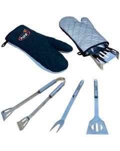 BBQ Tool Set In Mitt
