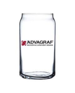 Popcan Glass Tumbler 16oz