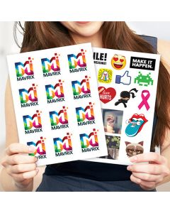 Die-Cut Sticker Pages