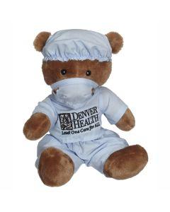 """Dr. Owen Scrubs Bear 11"""" Plush"""