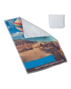 Full Colour Foldable Microfibre Cloth