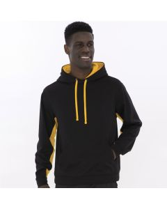 Fleece Colour Block Hooded Sweatshirt