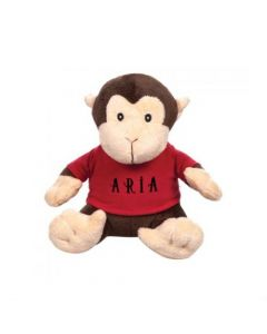 Harley the Stuffed Monkey (with T-Shirt)