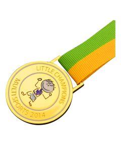 Epoxy Dome Medals