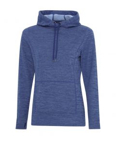ATC Dynamic Heather Fleece Hooded Ladies Sweatshirt