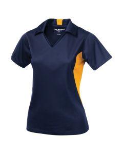 Coal Harbour Snag Resistant Colour Block Ladies Sport Shirt