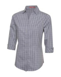 Tattersall Check Woven Ladies Shirt