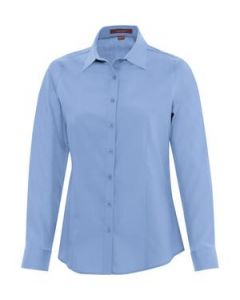 Everyday Long Sleeve Ladies Woven Shirt