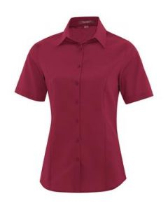 Everyday Short Sleeve Ladies Woven Shirt